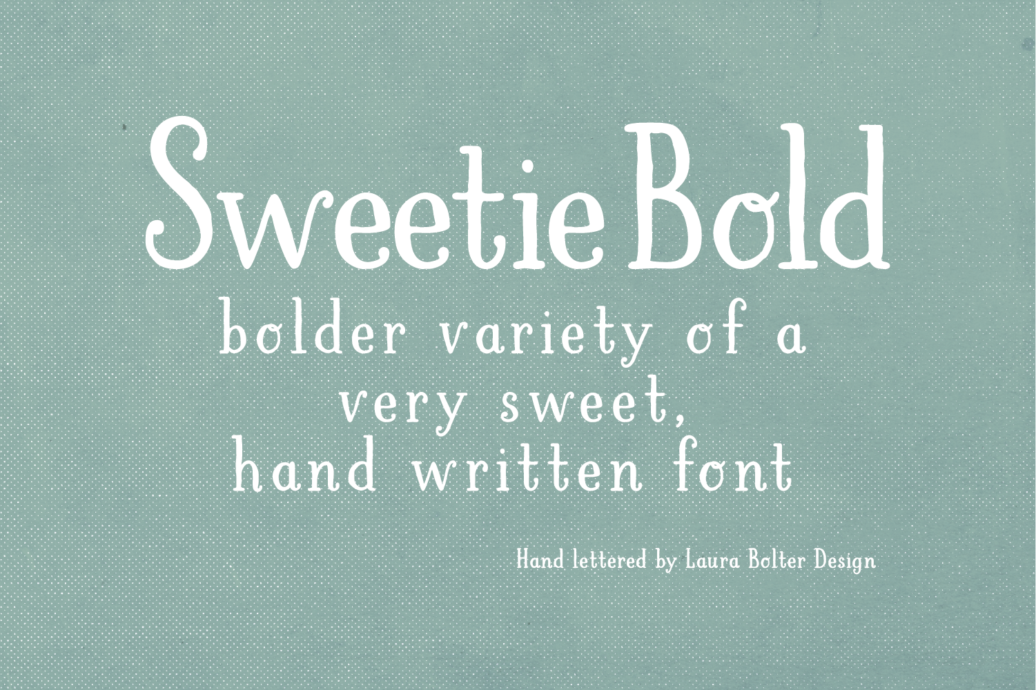 LB Sweetie Bold example image 1