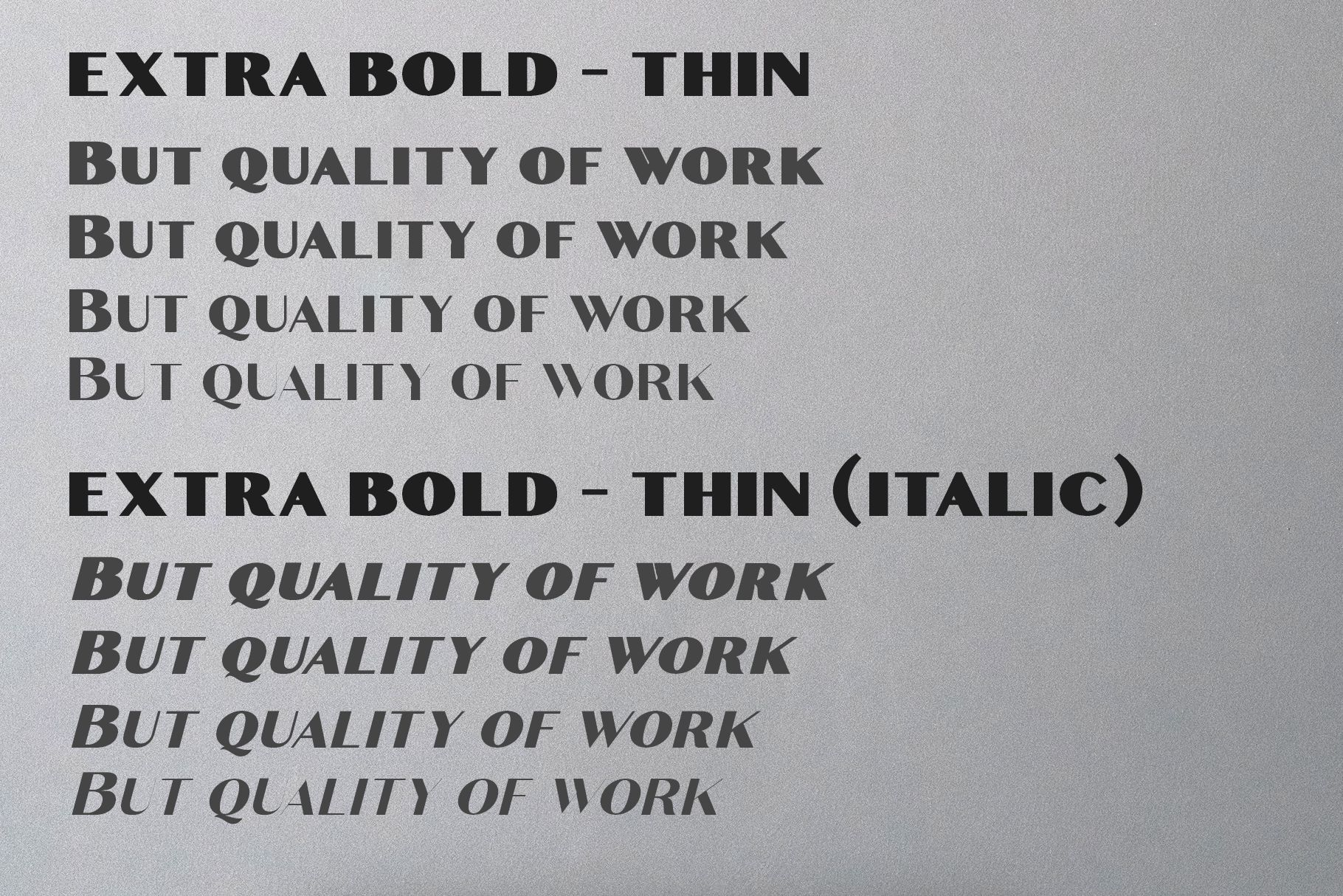 Croco - Luxury Sans Serif Font example image 10