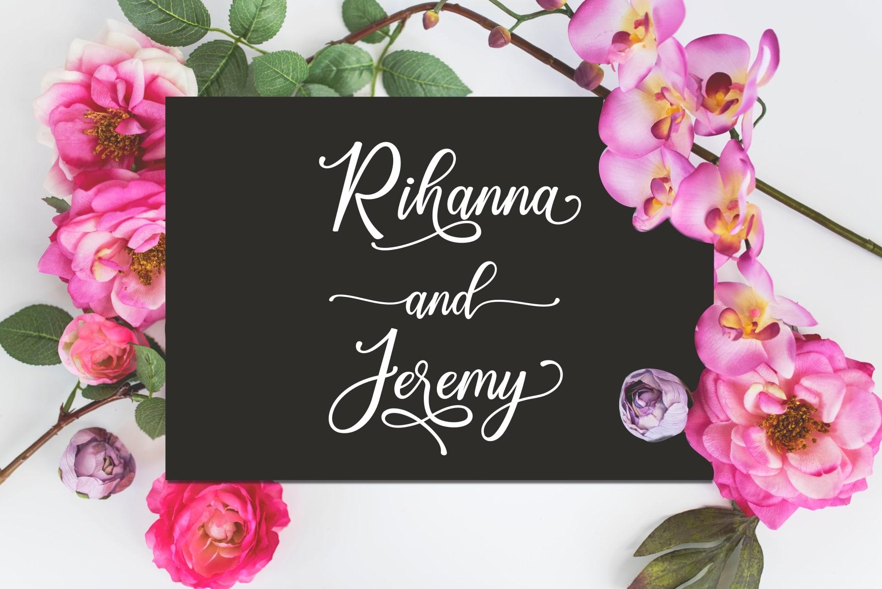 Happy Birthday // Pretty font example image 12