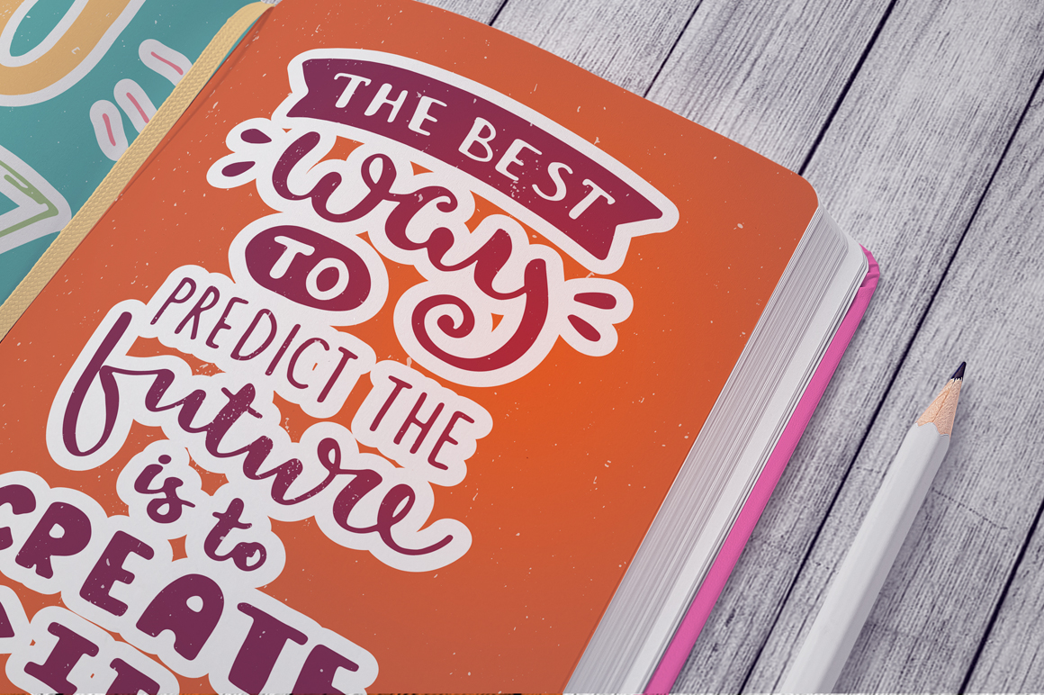 26 Hand Lettering Phrases & Posters example image 5