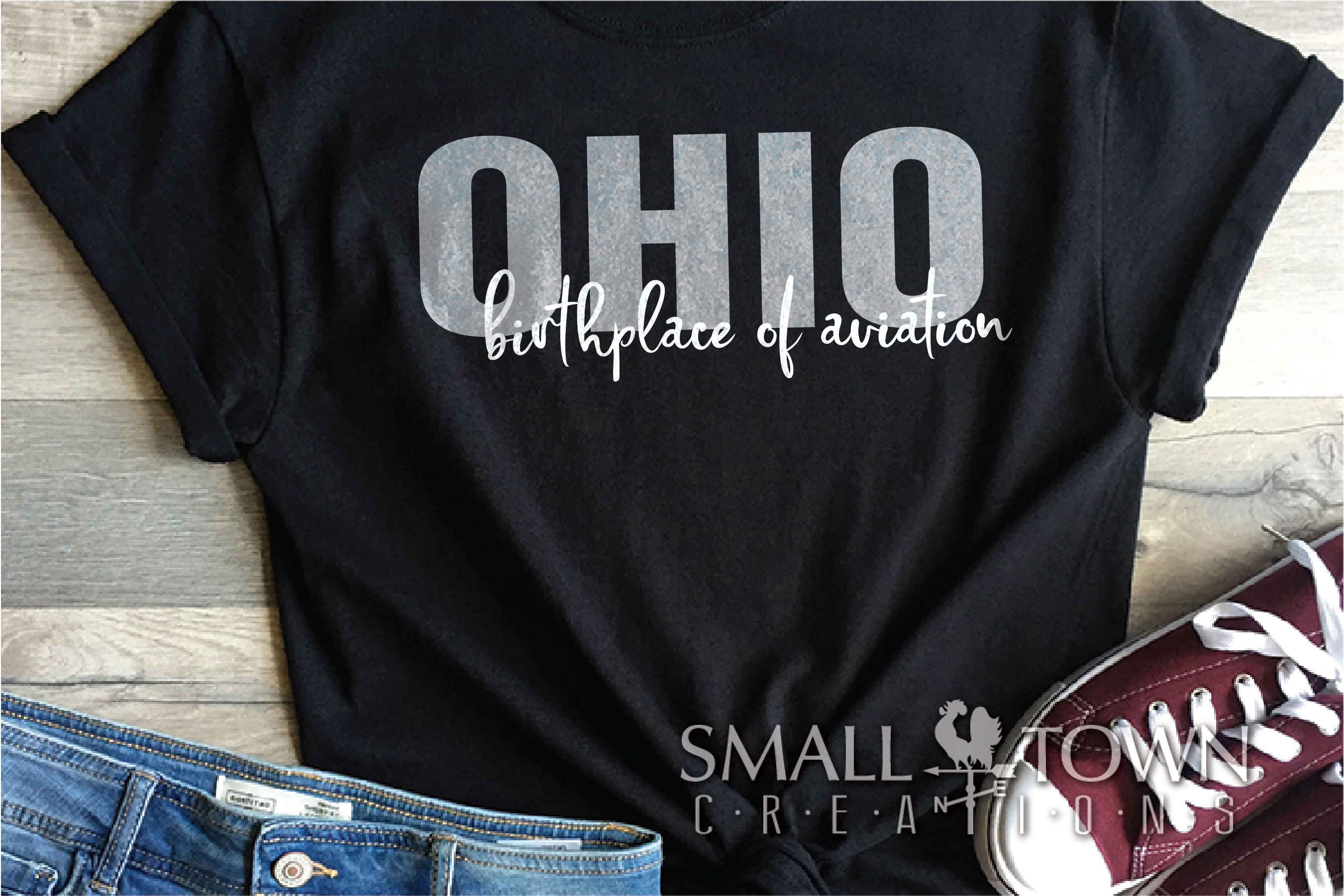 Ohio, Birthplace of Aviation - slogan, PRINT, CUT & DESIGN example image 4