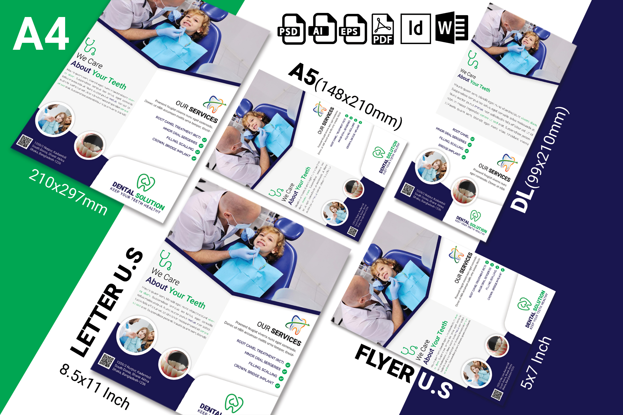 Dental Flyer Template Vol-02 example image 2