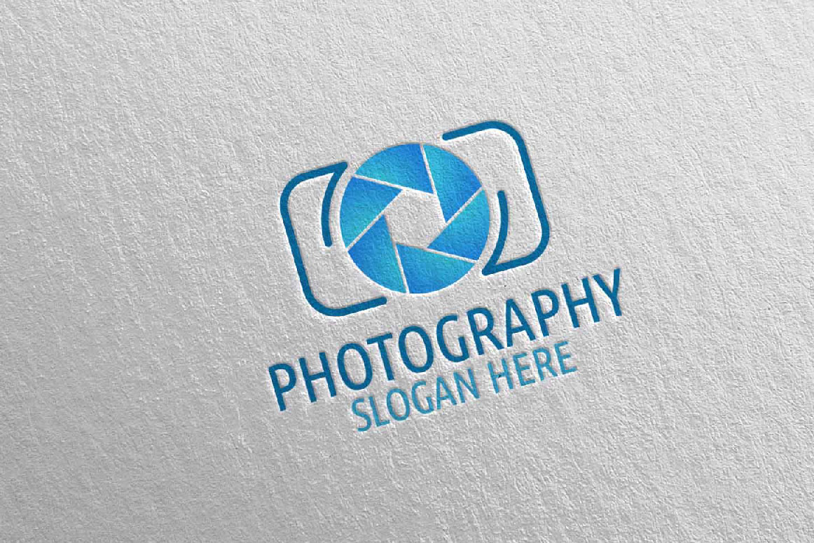 Abstract Camera Photography Logo 2 example image 2