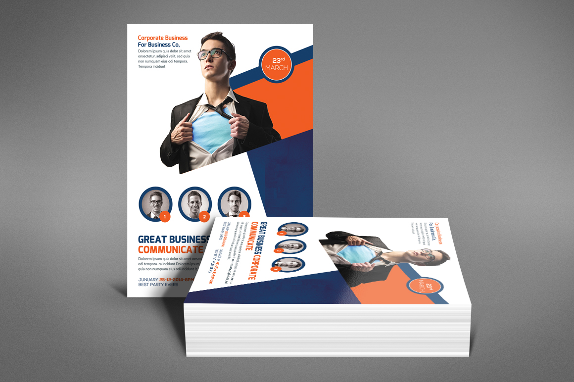 Global Business Flyer example image 2