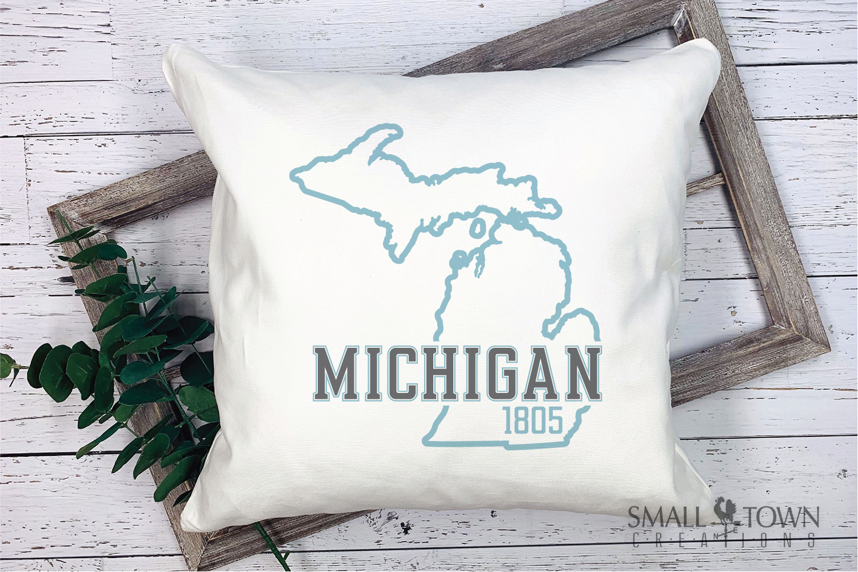 Michigan, Great Lake States - slogan, PRINT, CUT & DESIGN example image 9