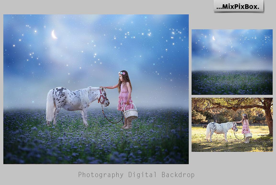 Magic Night Backdrops example image 2