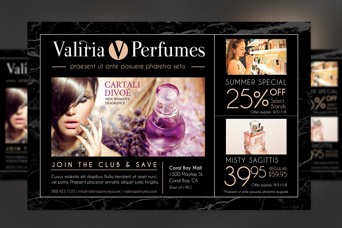 Perfume Club Flyer Template example image 2