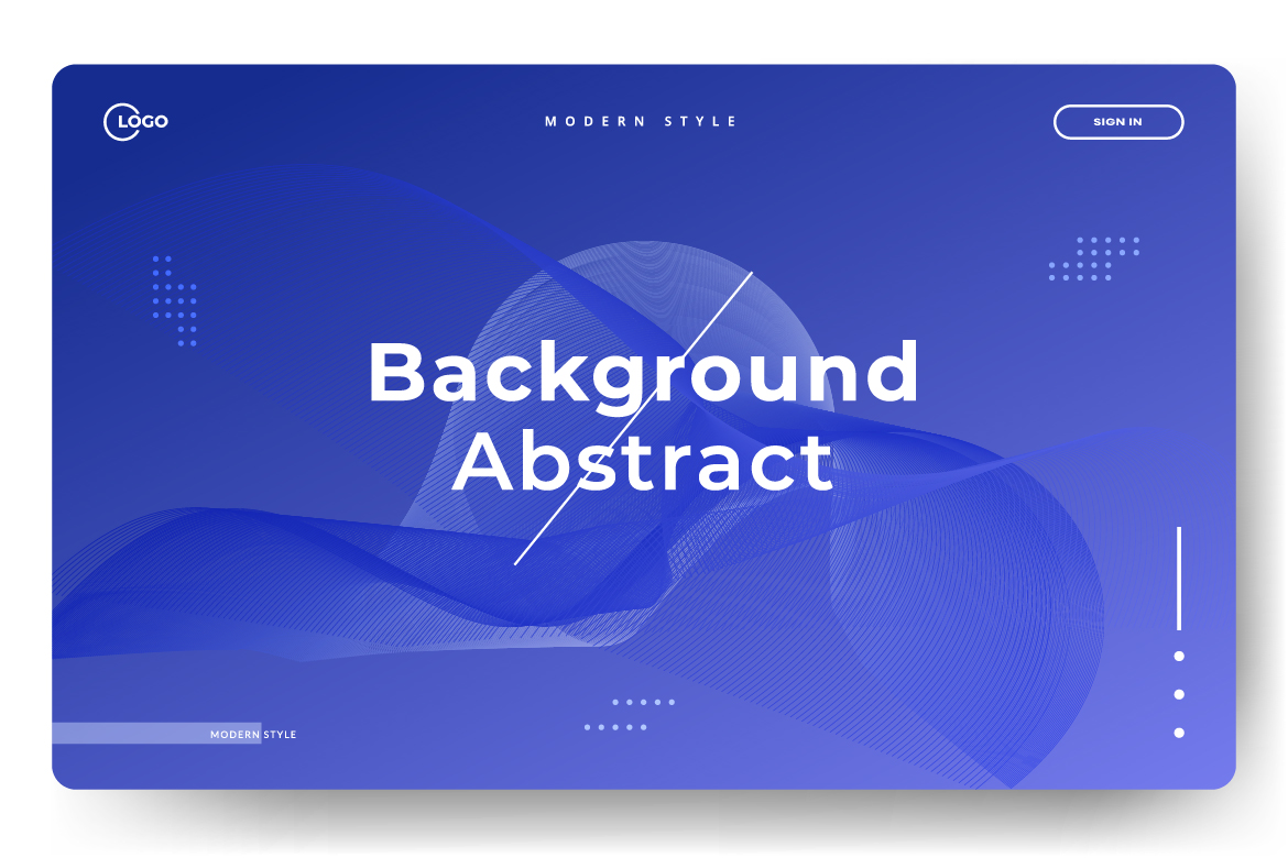 8 Abstract background design example image 8