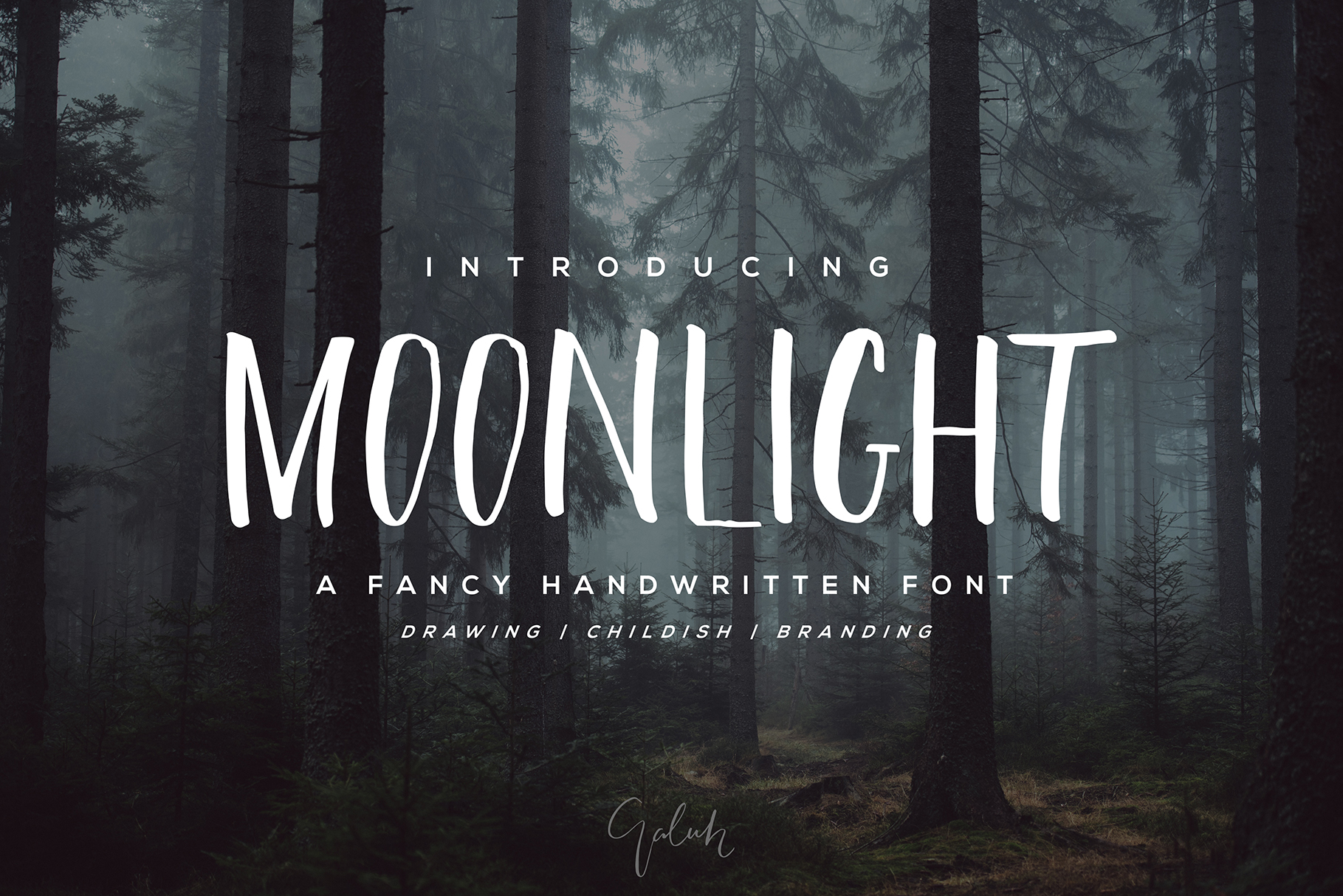 Moonlight Font example image 1