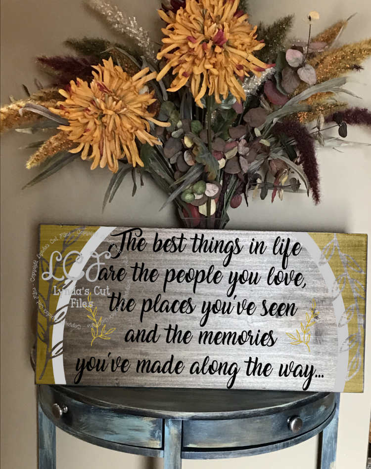 The Best Things in Life//SVG/EPS/DXF example image 2