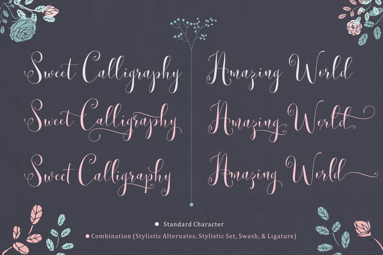 Lemonsalt Sweet Font example image 3