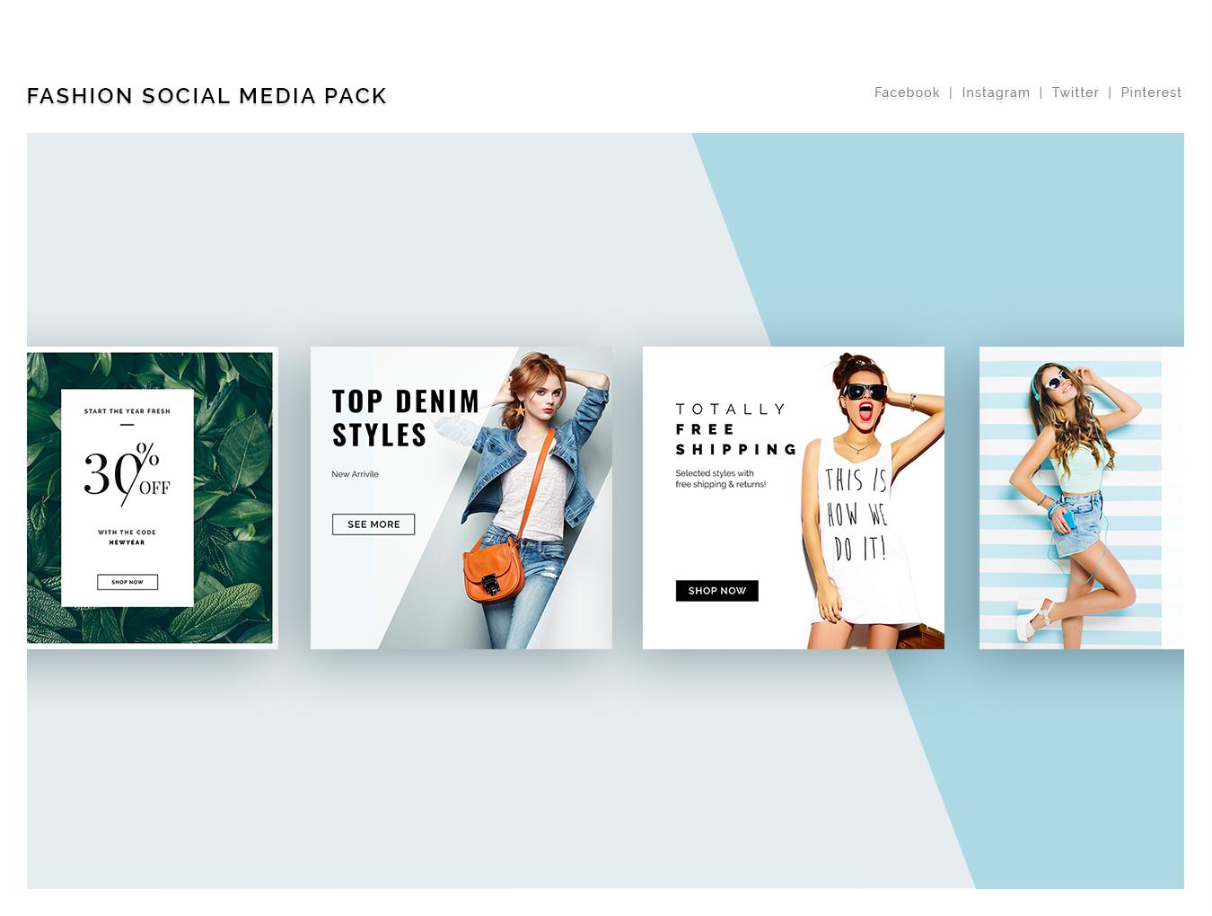 Fashion Social Media Pack example image 6