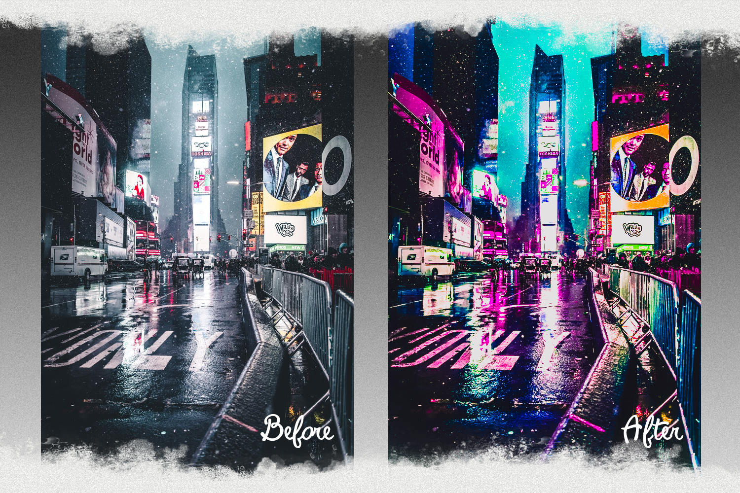 Neon preset lightroom mobile pc instagram effects filter example image 7