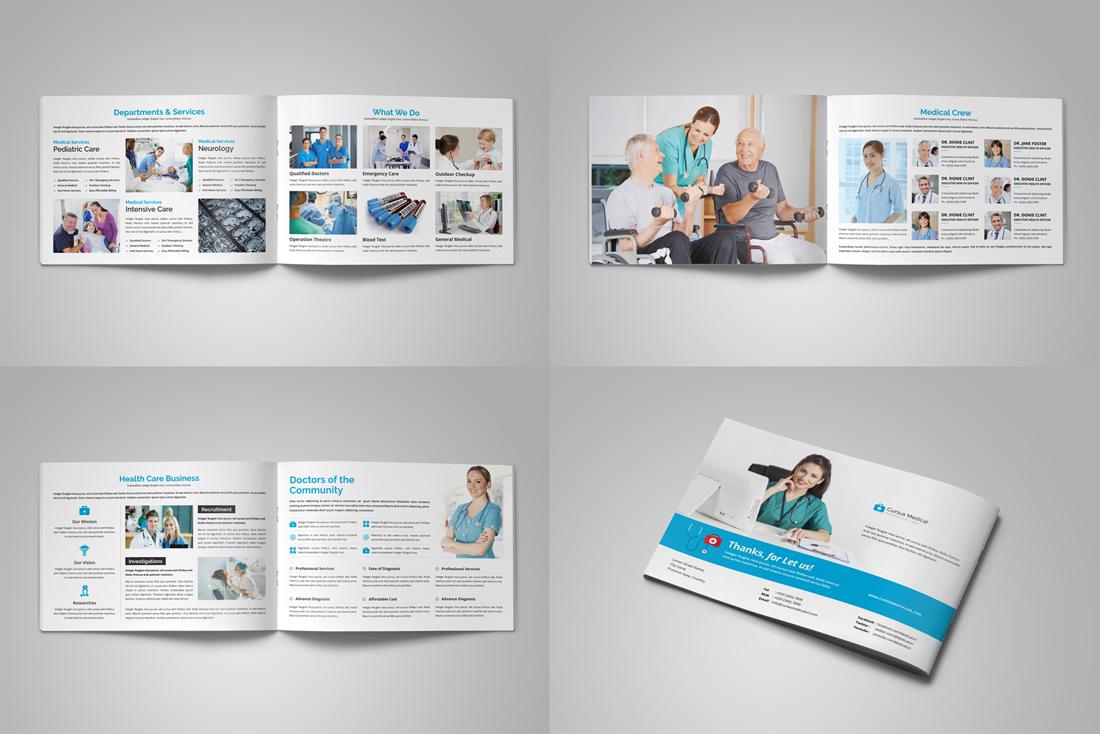 Medical HealthCare Brochure Bundle example image 11
