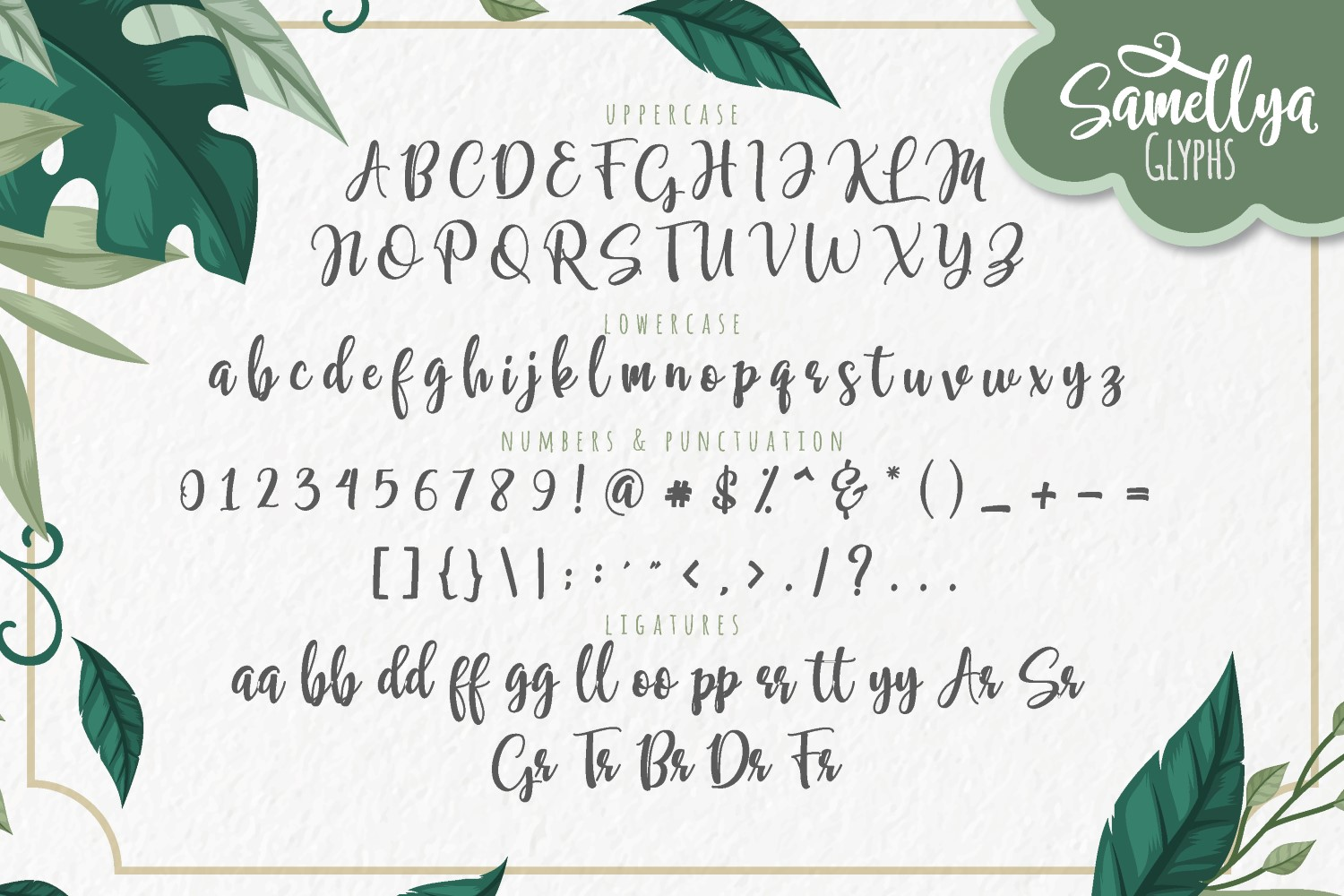 Samellya - Crafter's Font! example image 6