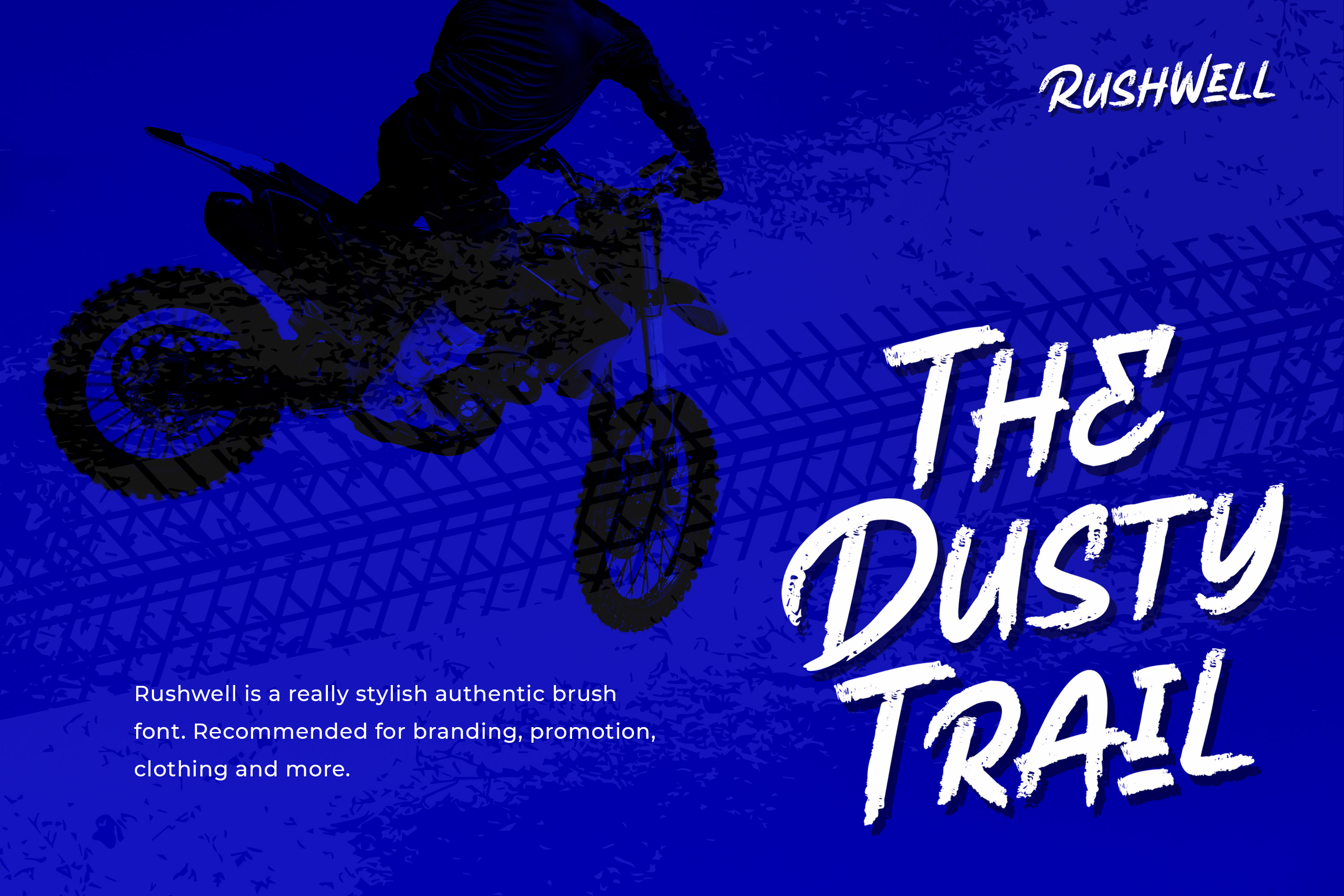 Rushwell - Brush Font example image 2