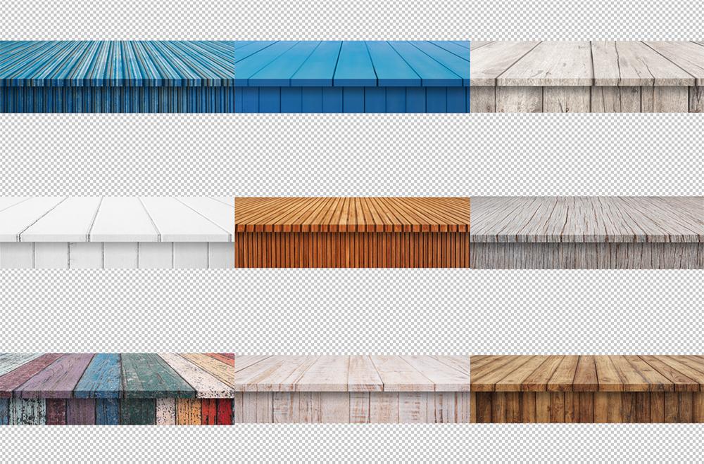 100 Realistic Shelves on Wall. Set 2 example image 6