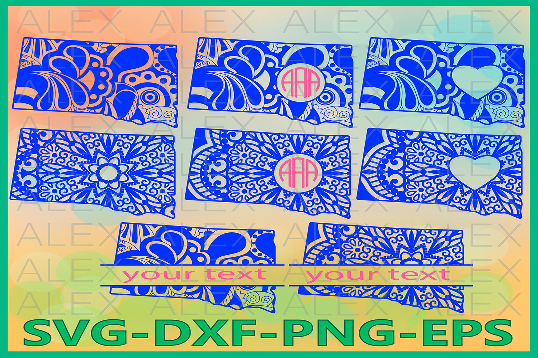 South Dakota State SVG, South Dakota Mandala SVG example image 1