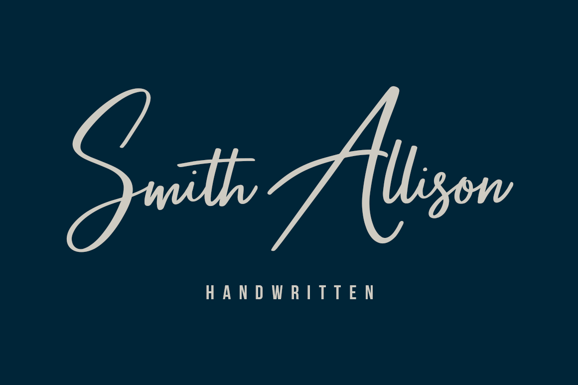 Smith Allison example image 1
