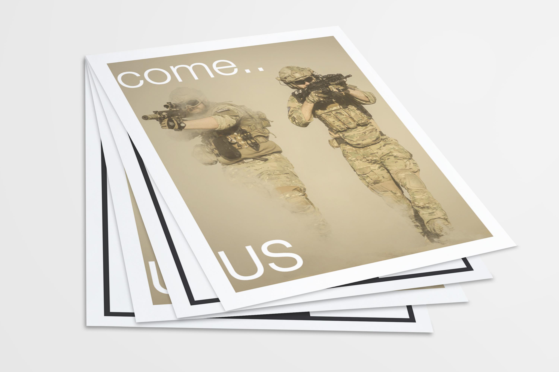 US Letter Flyer / Poster Mockups example image 2