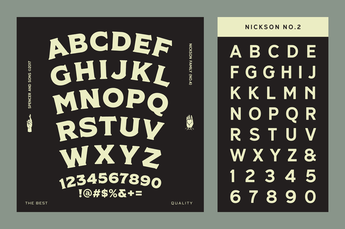 S&S Nickson Font Bundles  example image 18