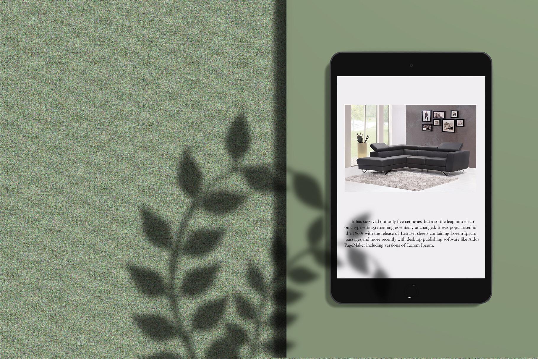 Minimal iPad Mockup example image 6