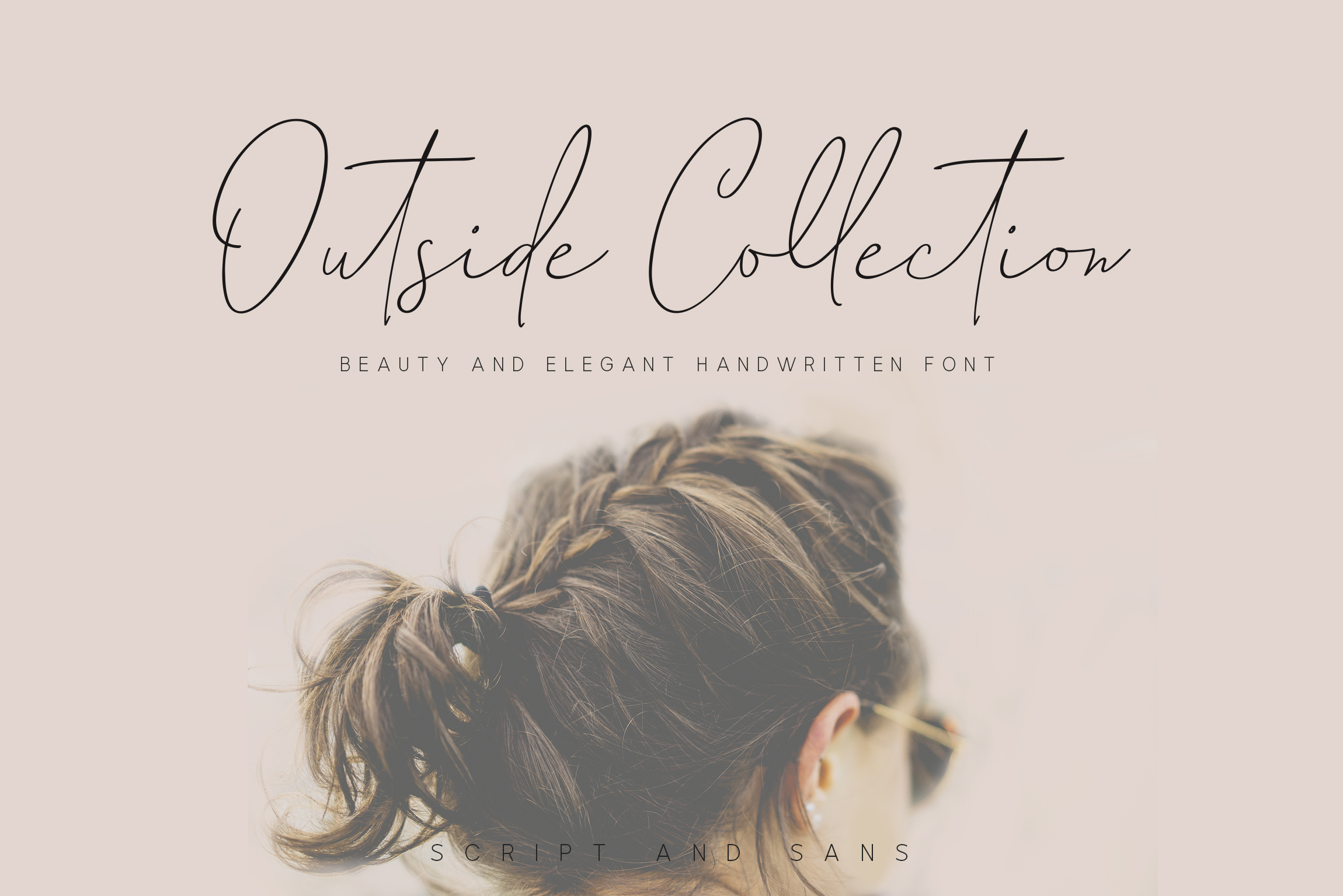 Outside Collection Signature Font example image 1