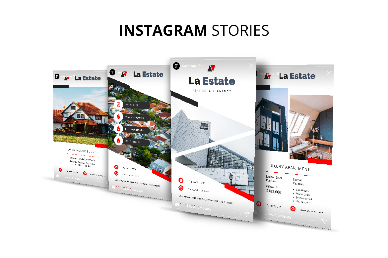 La Estate Real Estate Social Media example image 8
