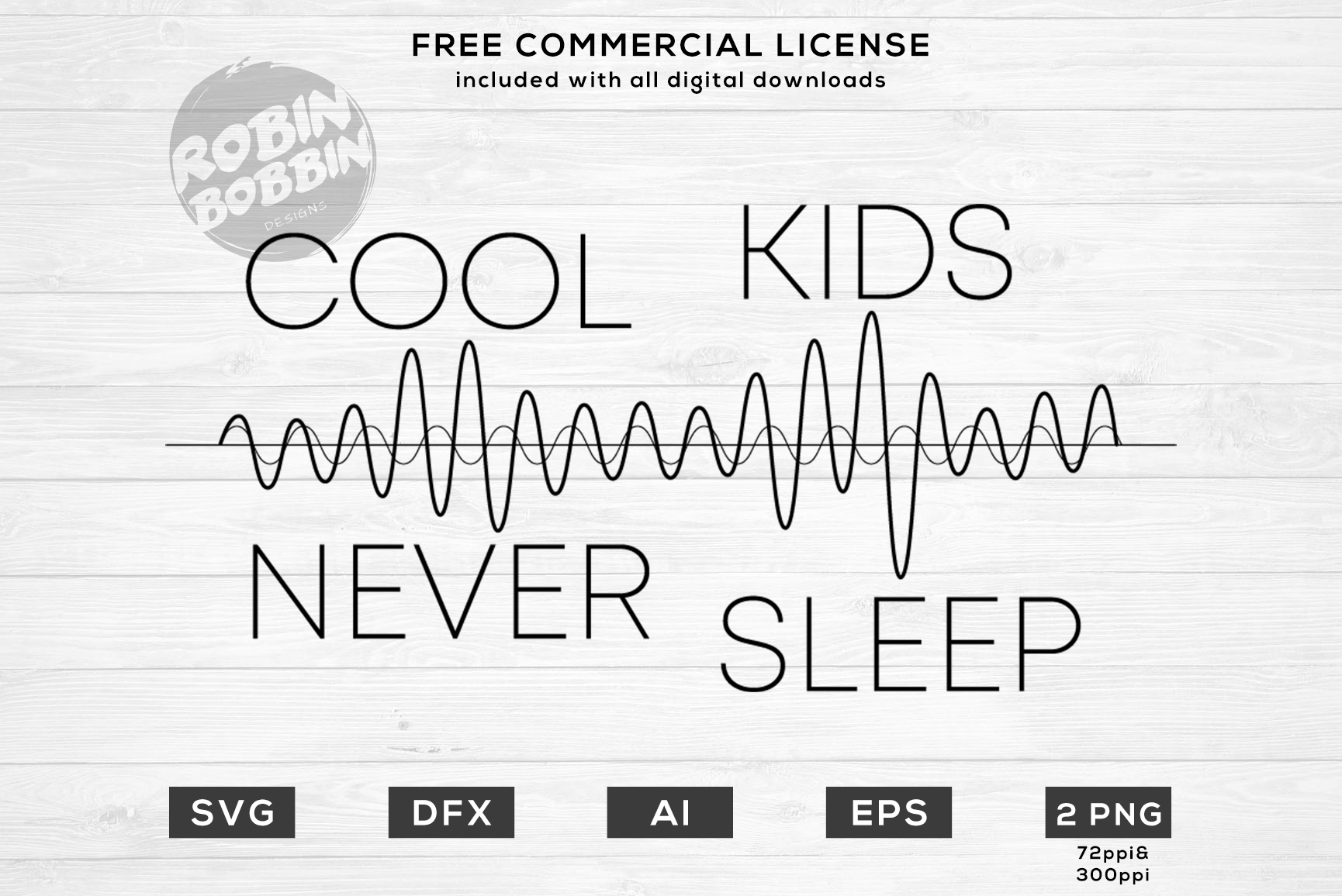 Cool Kids Never Sleep Design for T-Shirt, Hoodies, Mugs example image 1