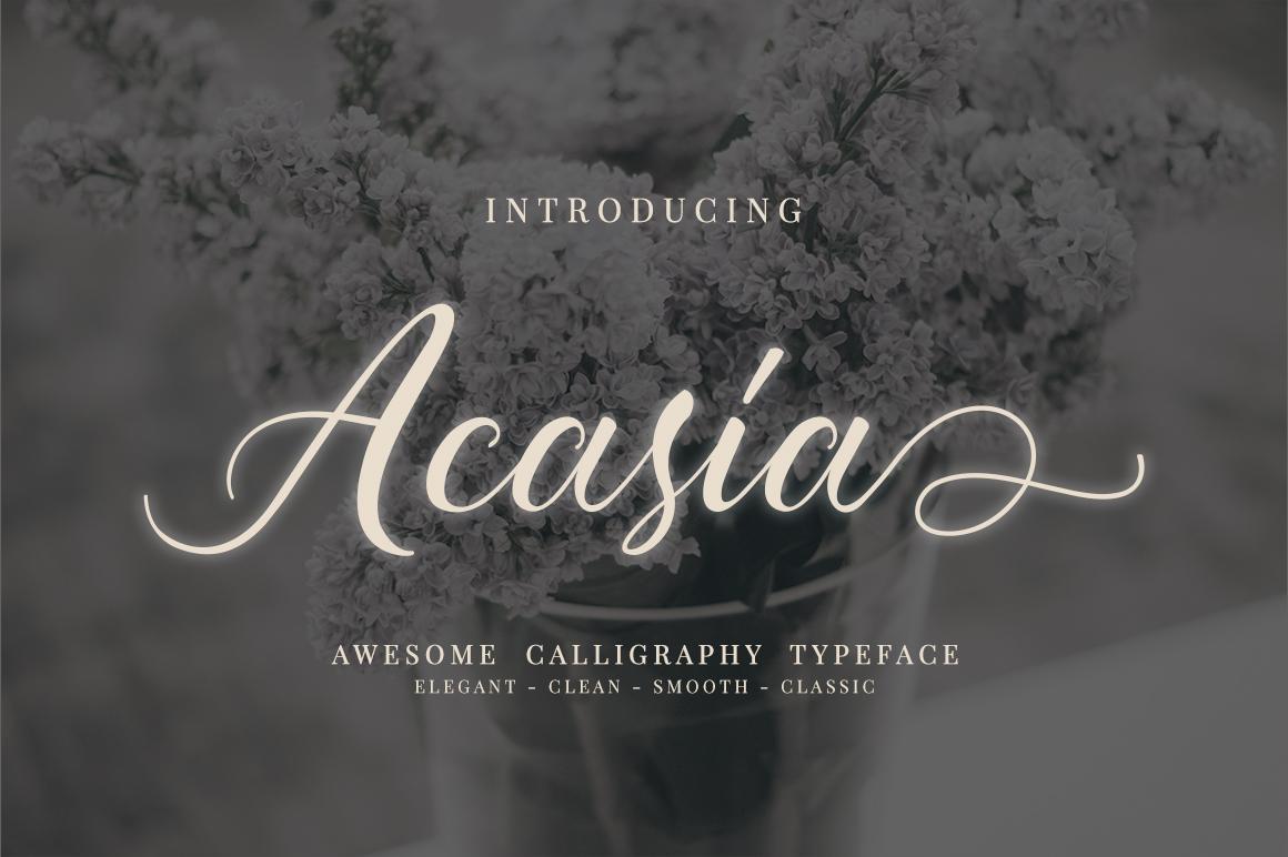 Acasia example image 1