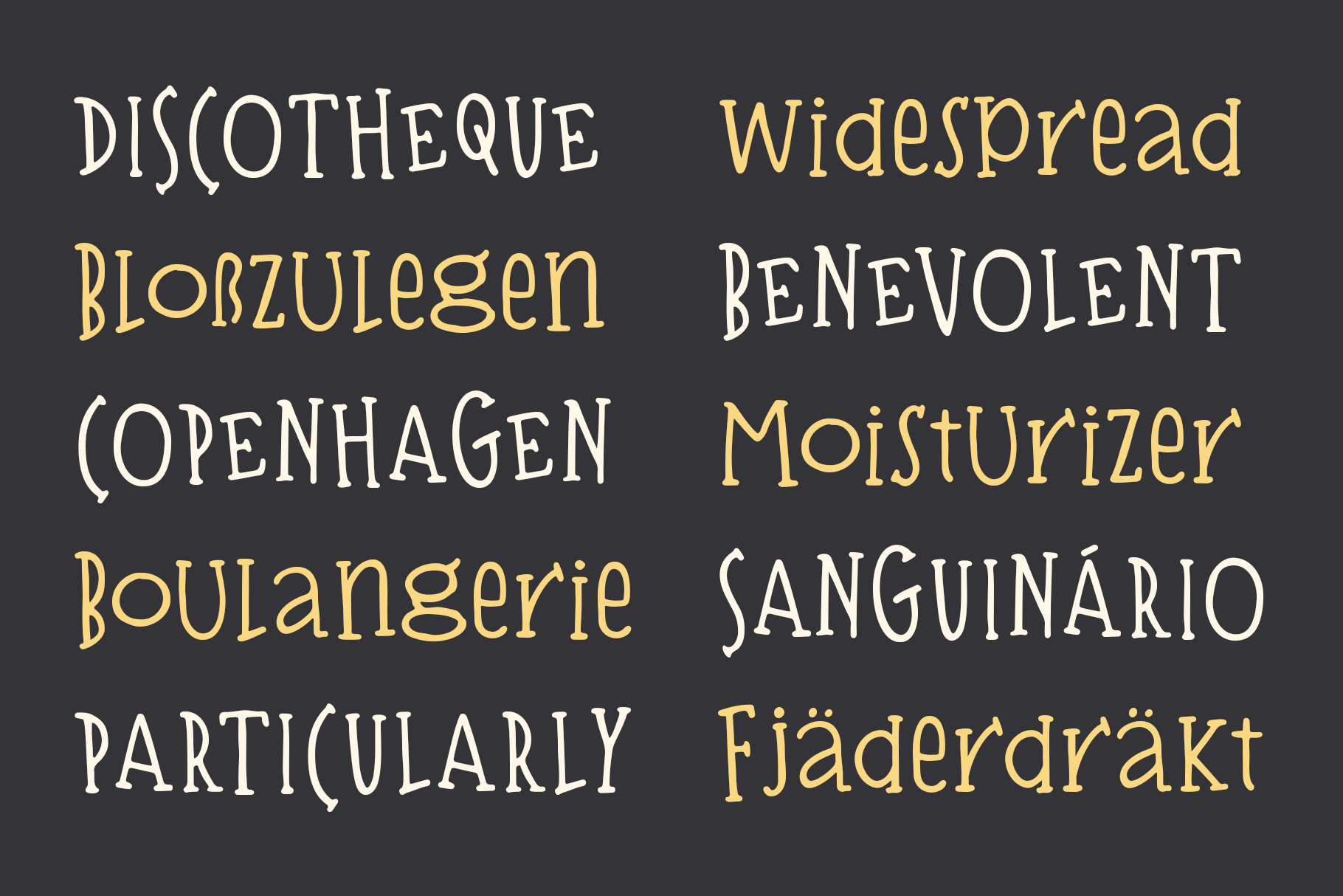 Bisquit   A Unique Serif example image 8