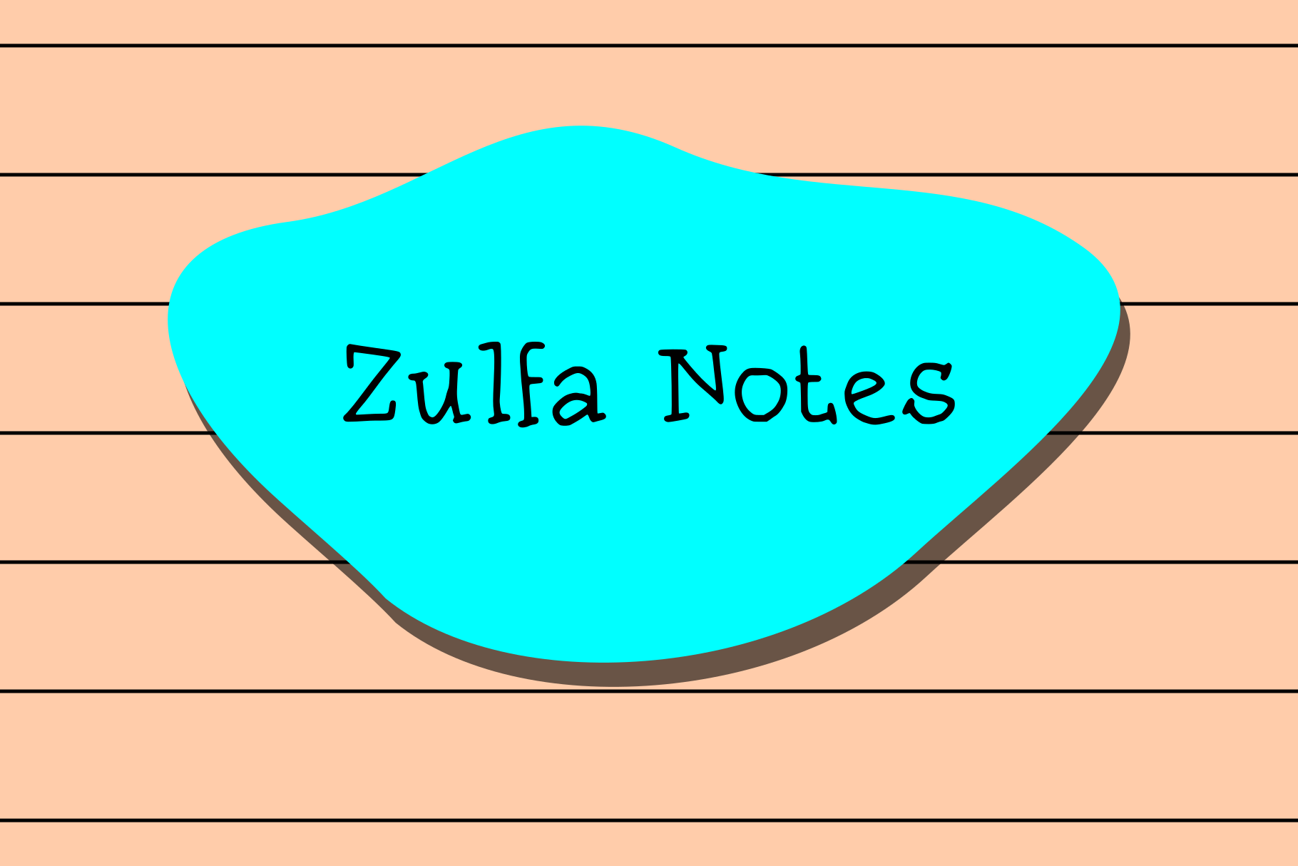 Zulfa Notes example image 1