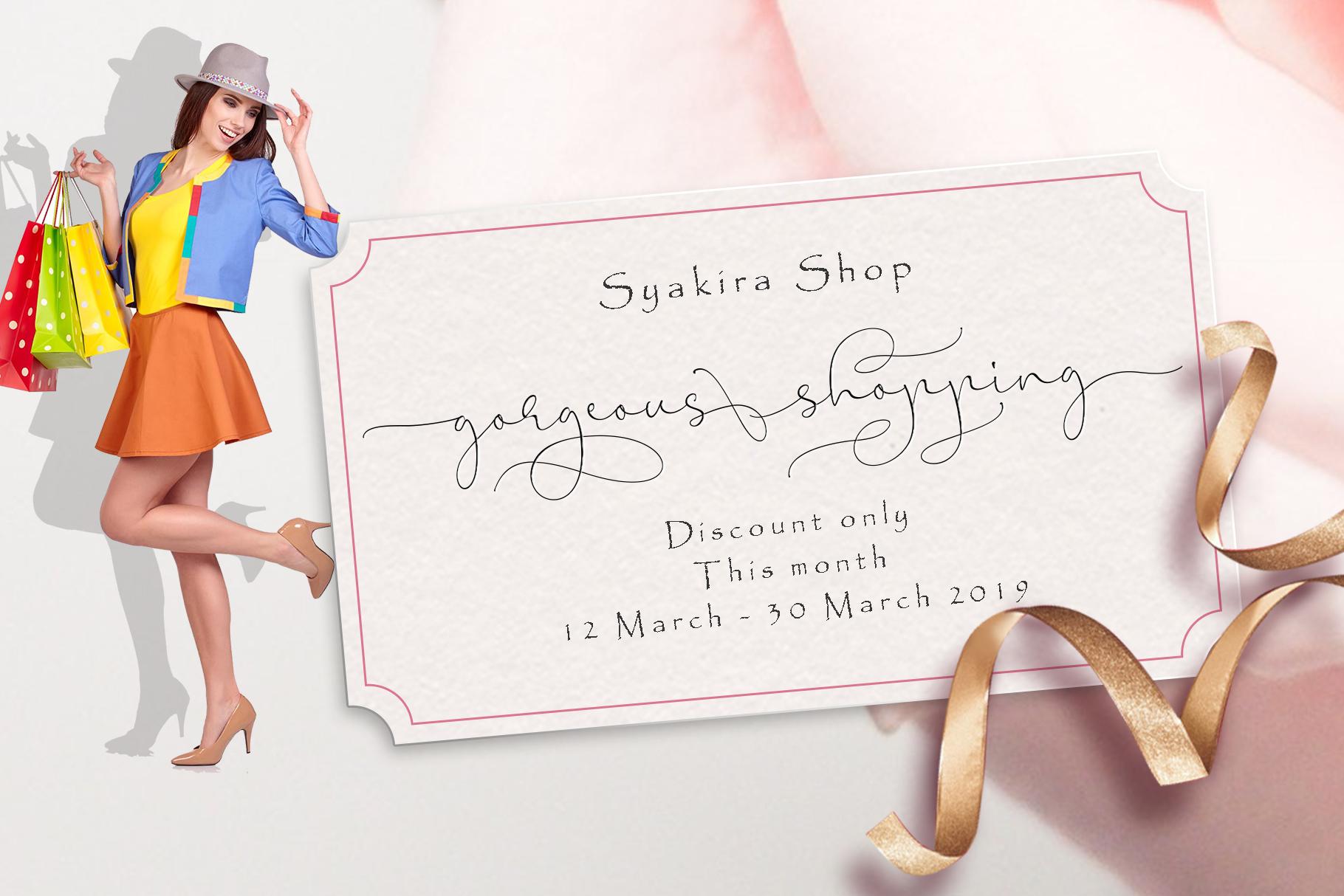 Syakira Script example image 4