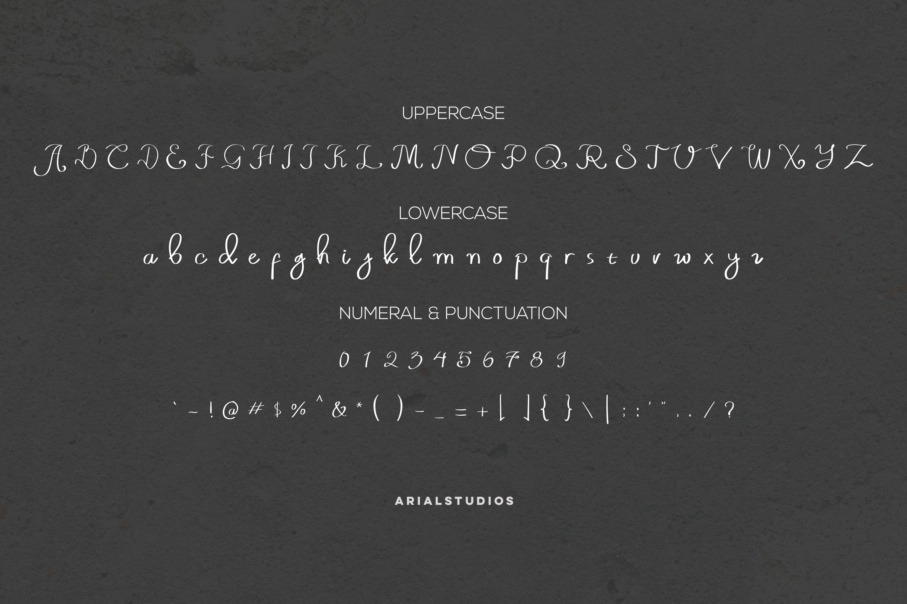 Old Barrell script font example image 4