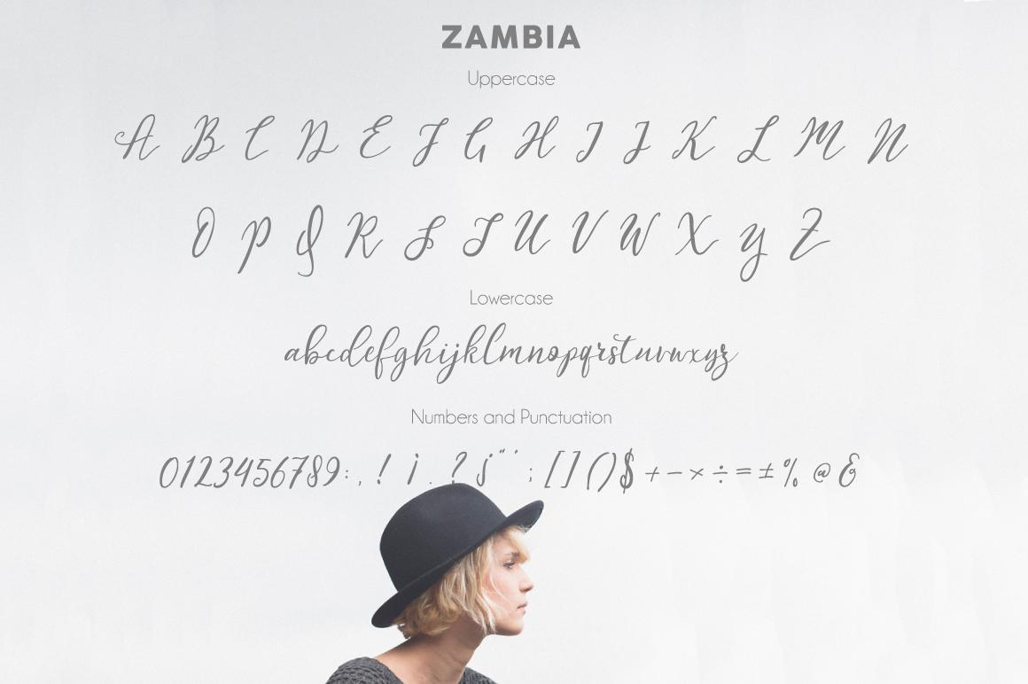 Zambia Script example image 3