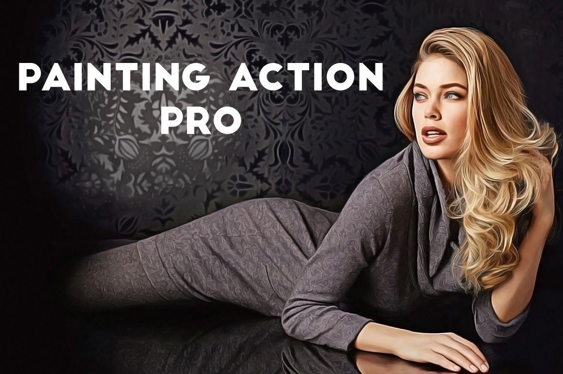 Painting Action Pro! (Photoshop) example image 2
