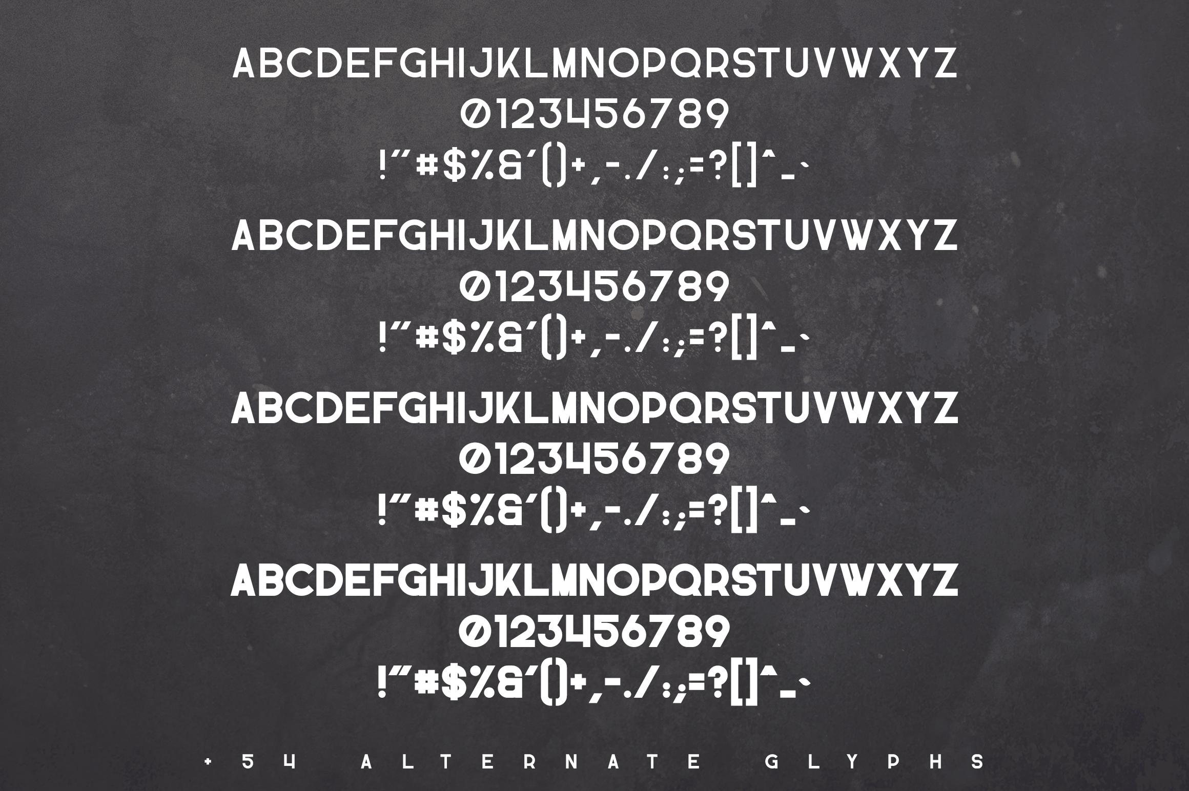 Propaganda - Vintage typeface example image 10
