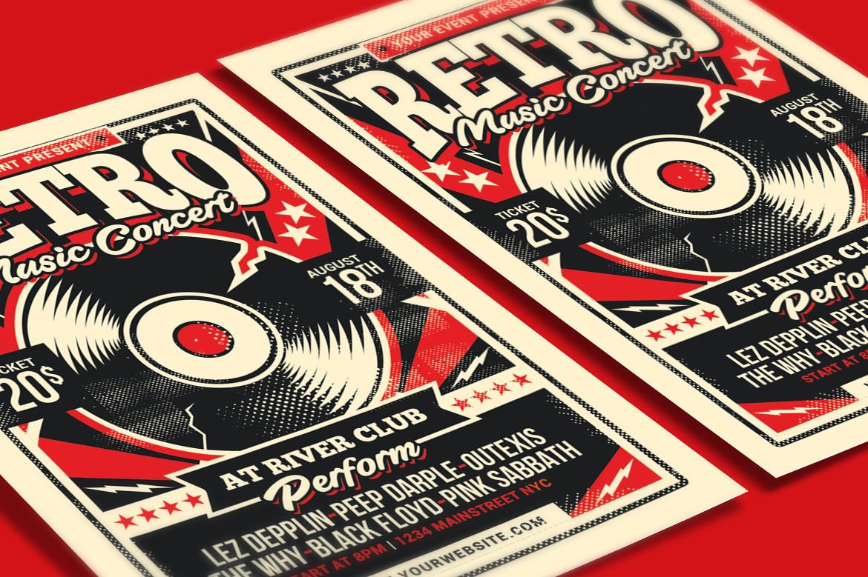 Retro Music Concert example image 3