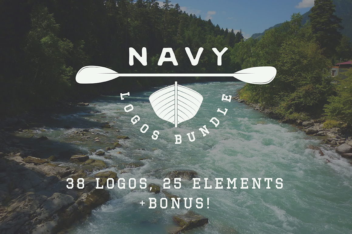 Navy Emblems Bundle example image 1