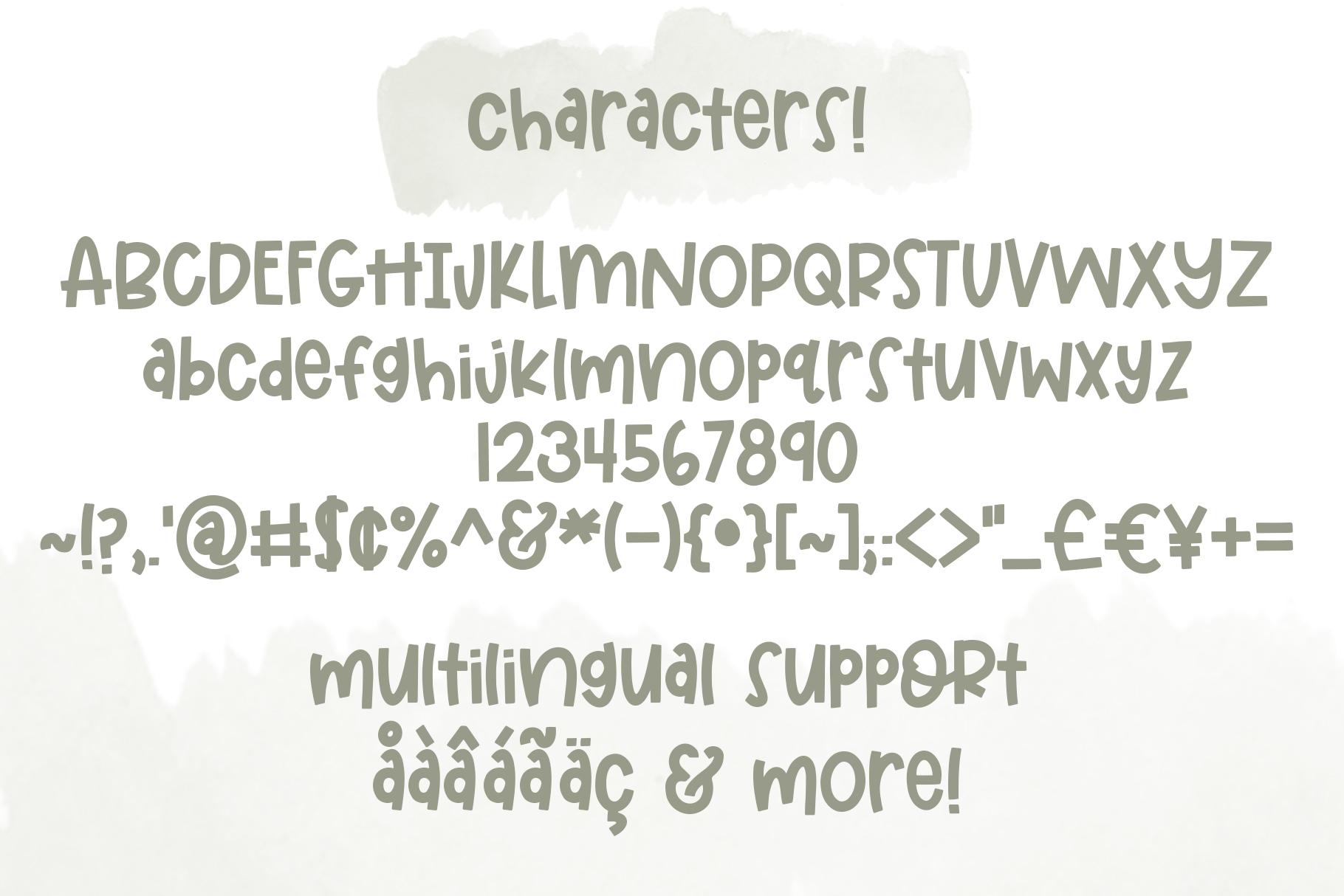Elementary Font example image 9