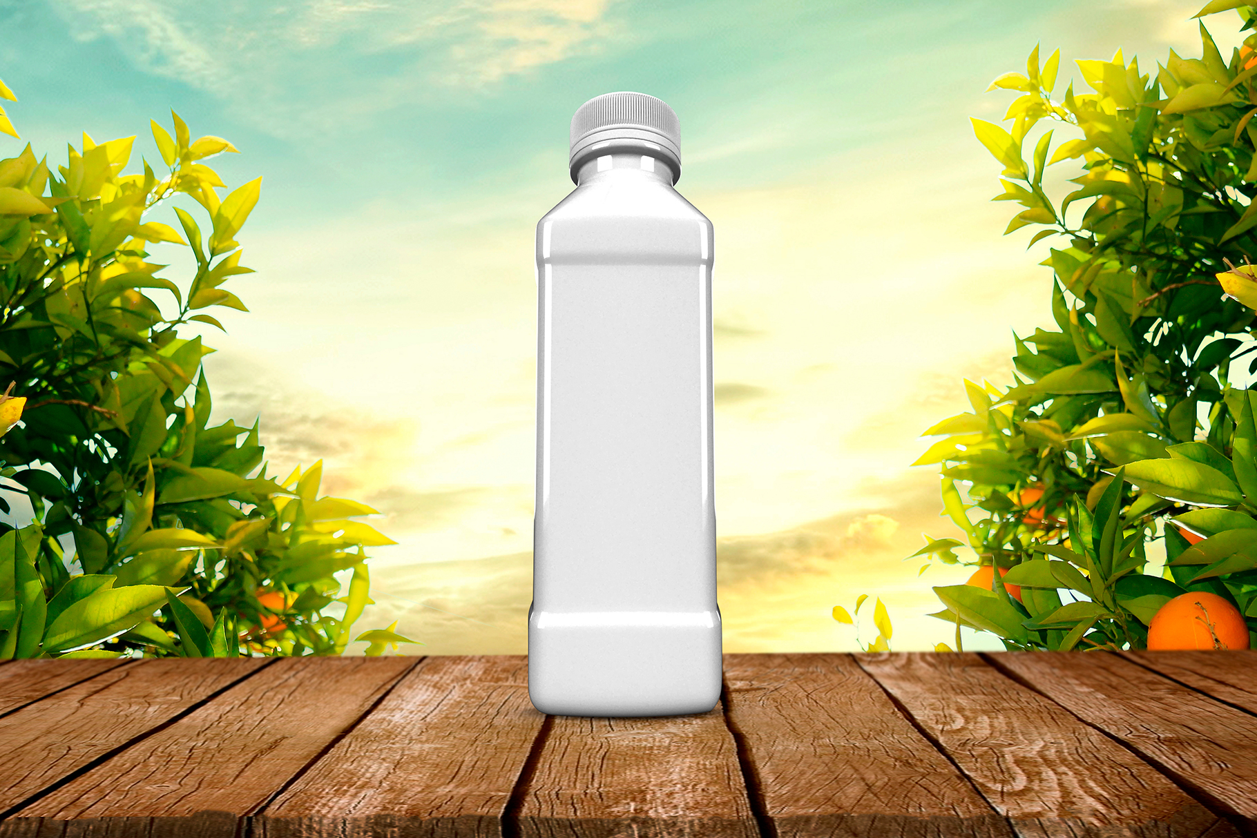 Bottle Juice Mockup Advertising example image 8