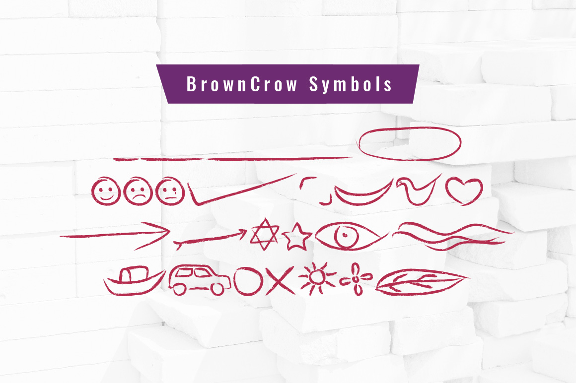BrownCrow Typeface example image 9