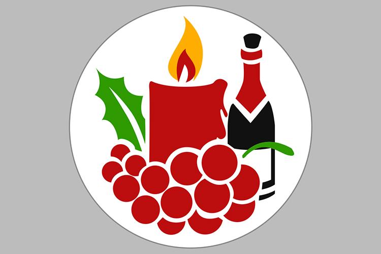 Crhistmas Wine Party Bundle example image 4
