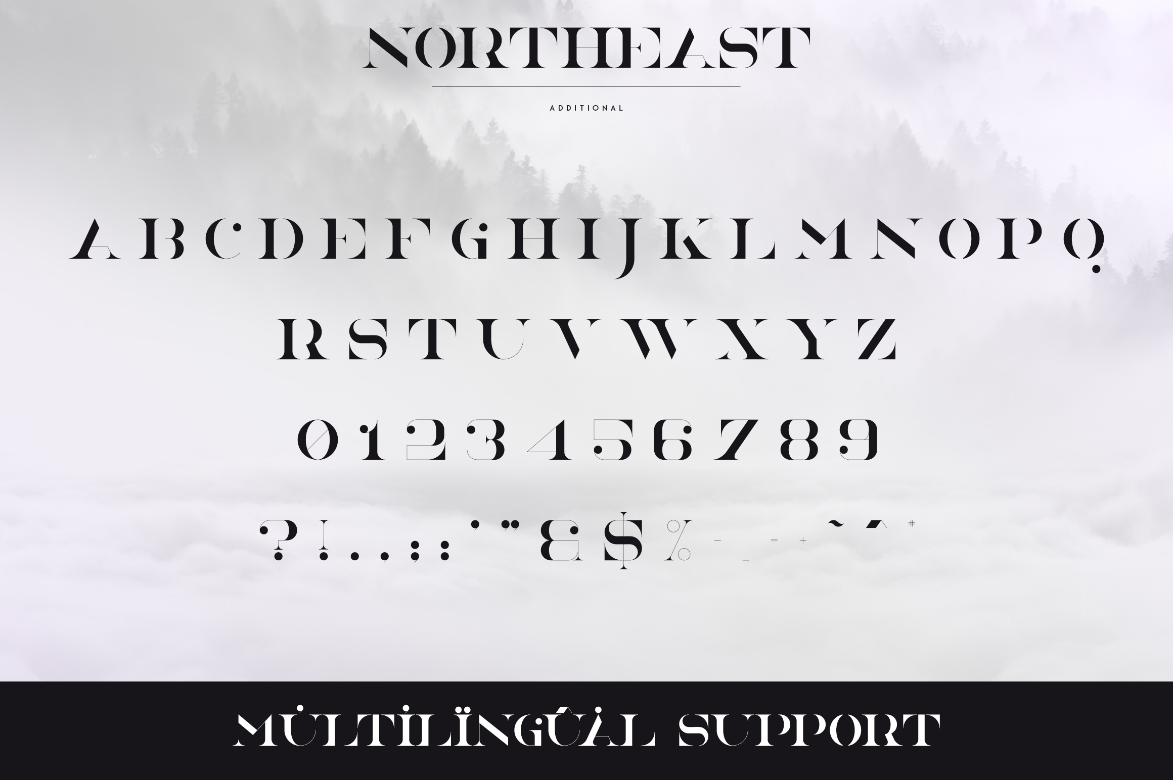 NorthEast - 4 serif fonts example image 11