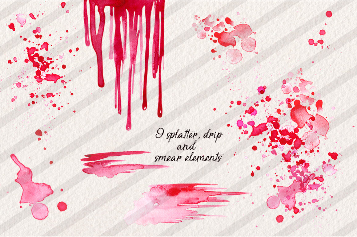 Watercolor Lips Collection example image 4