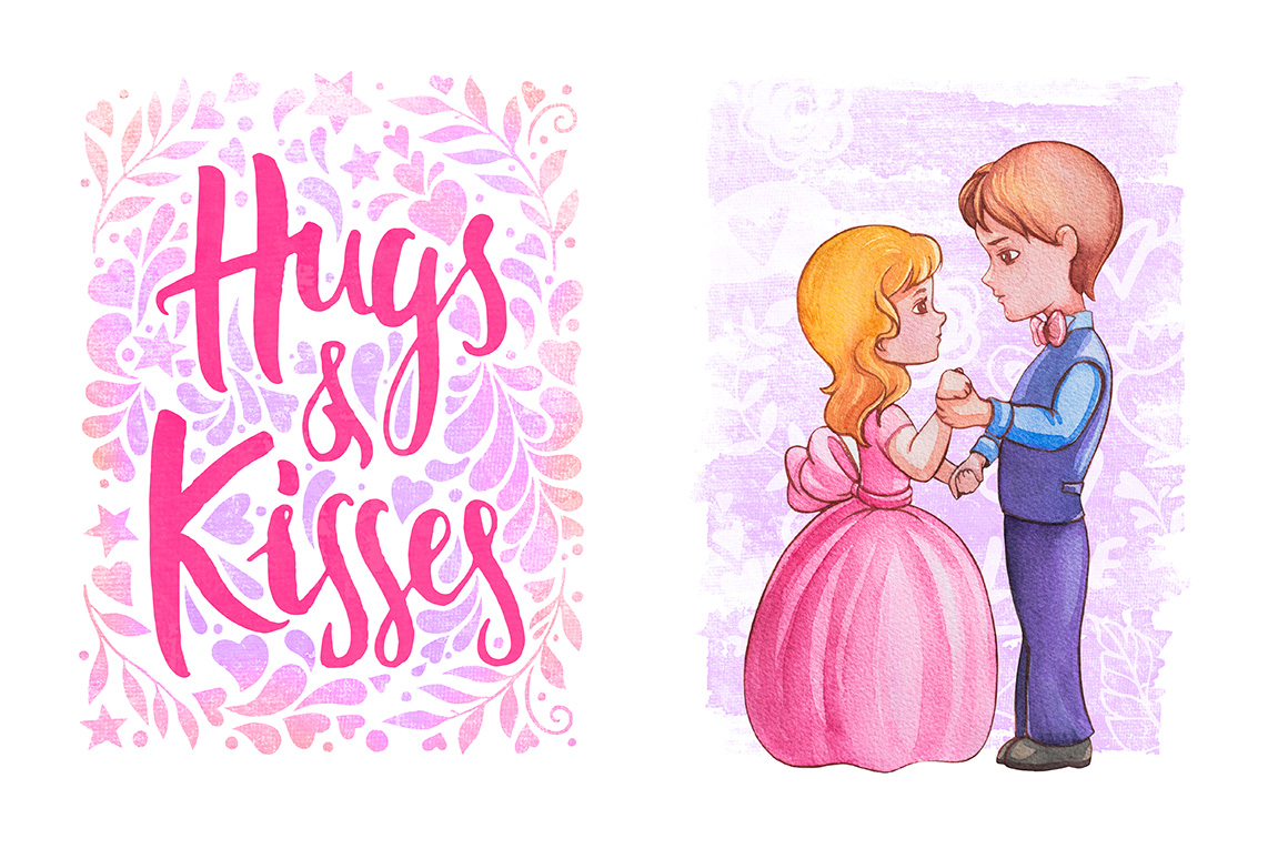 Hugs & Kisses in the Valentines day! example image 4