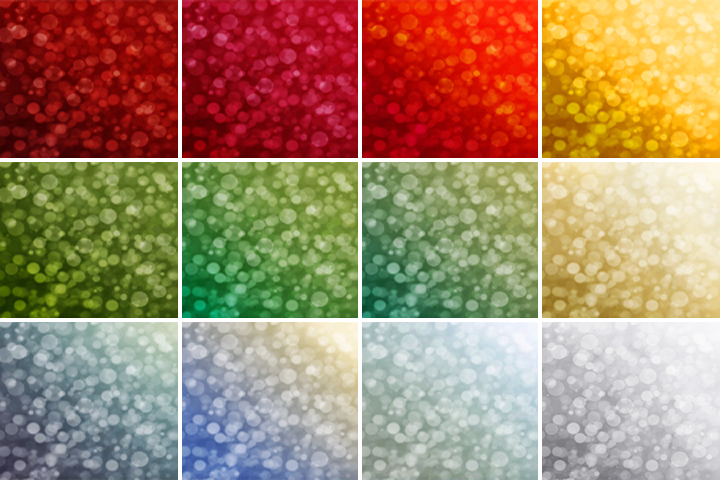 Christmas Bokeh digital paper, Winter Holiday Bokeh Overlay, Bokeh backgrounds, Instant Download, for Personal and Commercial Use example image 4