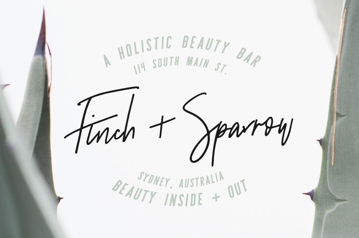 Sydney | Font Duo + 12 Free Logos example image 12