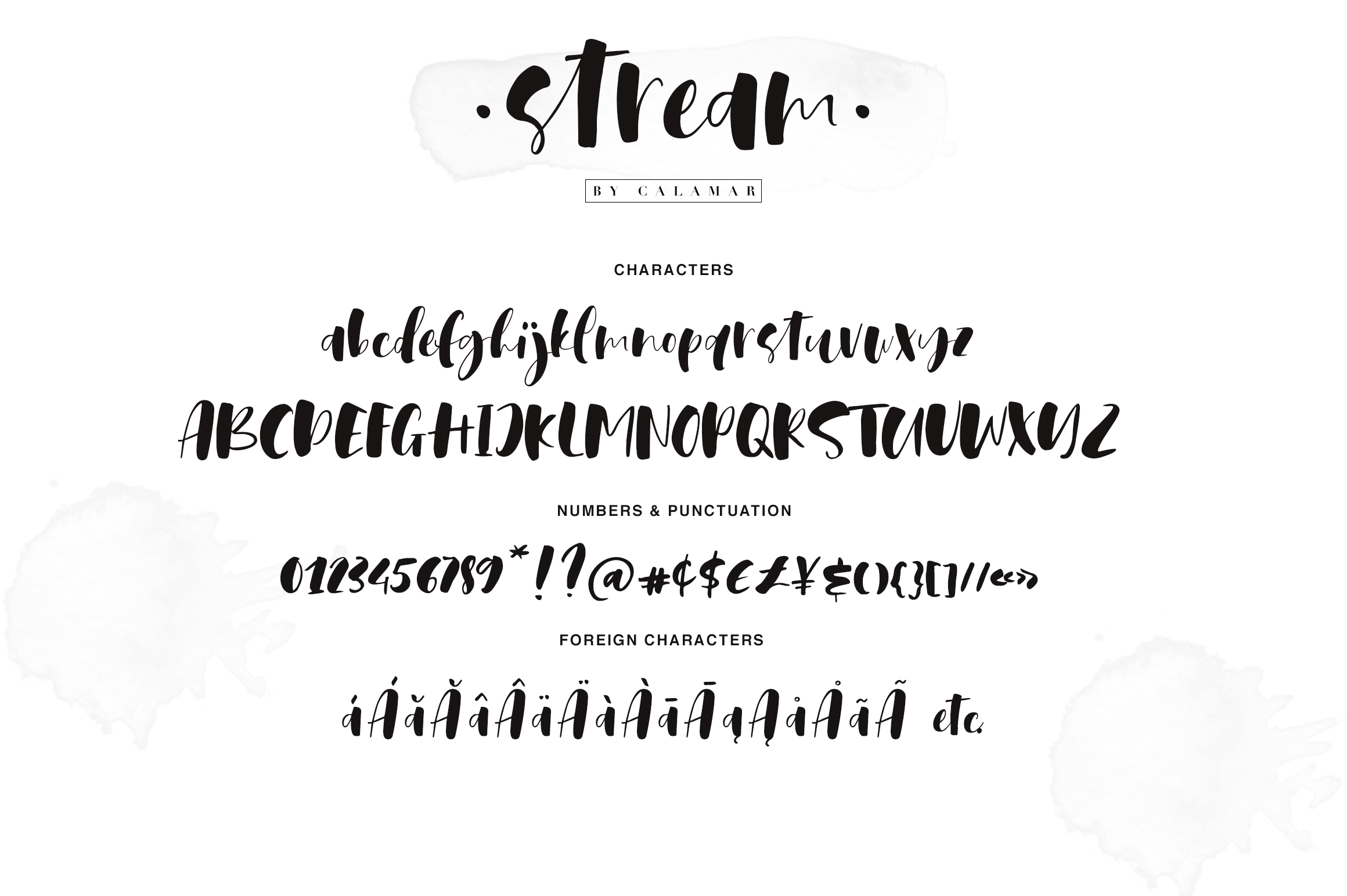 Stream Font example image 2
