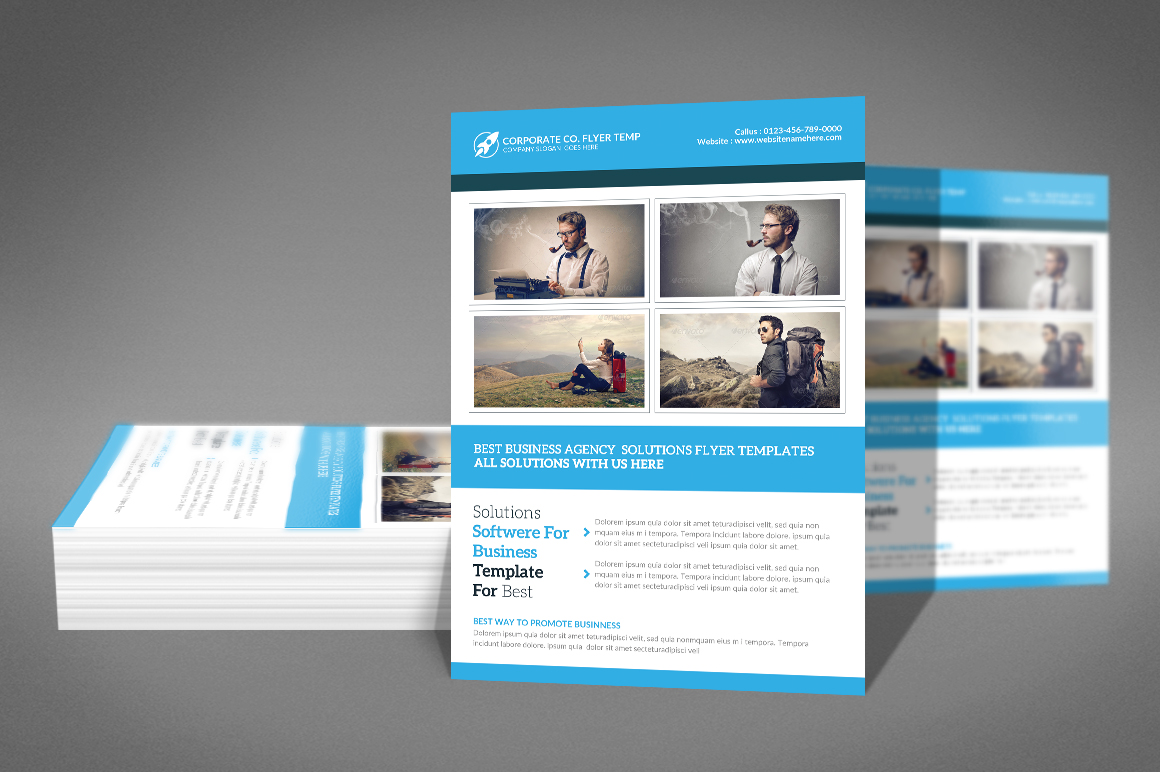 Corporate Flyer example image 2
